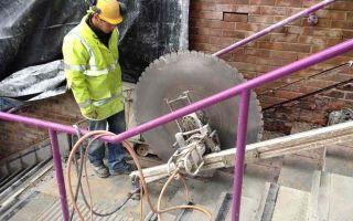 Современная резка бетонных перекрытий
