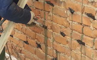 Инъектирование трещин стен