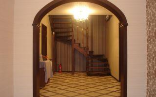 Межкомнатные деревянные арки