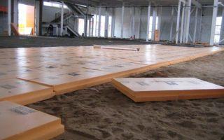 Теплоизоляция — утепление напольного покрытия