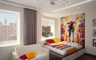 Стильный интерьер спальни для подростка