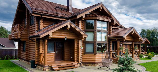 Загородное строительство: дома из дерева под ключ