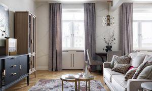 Квартира на Фрунзенской, 65 м²
