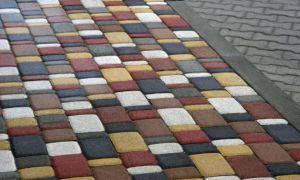 Тротуарная плитка: разновидности и способы укладки